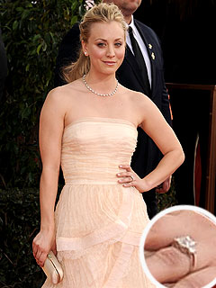 Kaley Cuoco Engaged, Golden Globes
