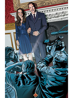 Prince William and Kate Middleton Comic Book