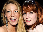 Blake Lively Checks Out a Florence + the Machine Concert | Blake Lively