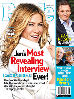 Jennifer Aniston Swears: 'I Am Happy!'