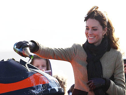 Prince William and Kate Middleton Tour Anglesey