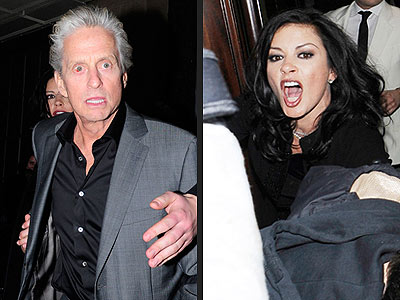 Catherine Zeta-Jones, Michael Douglas Involved in Paparazzi Scuffle: Report
