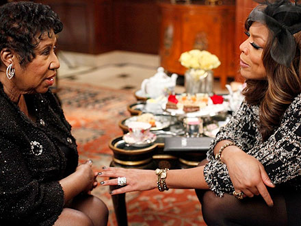 Wendy Williams Interviews Aretha Franklin
