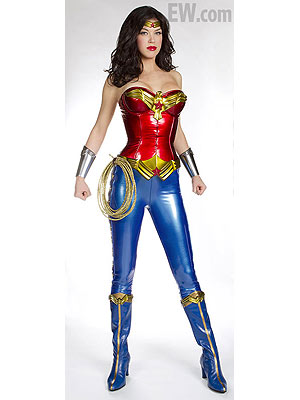 Adrianne Palicki Suits Up as Wonder Woman