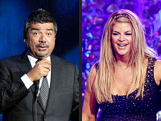 George Lopez Apologizes to Kirstie Alley for Pig Comment
