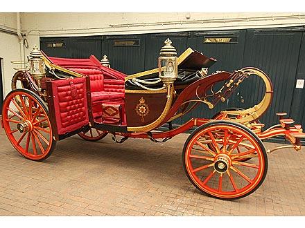 Kate Middleton's Wedding Day Carriage Revealed