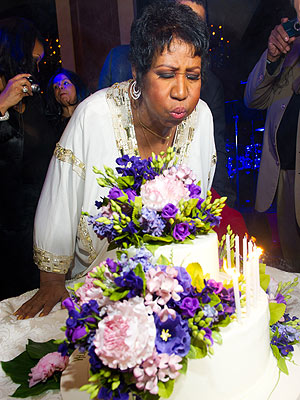 Aretha Franklin's N.Y.C. Birthday Party