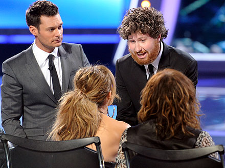 American Idol: Jennifer Lopez - Casey Abrams Saved