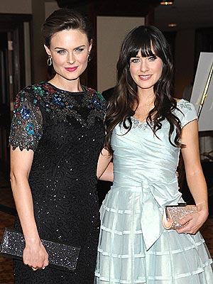 Emily Deschanel related to zooey deschanel
