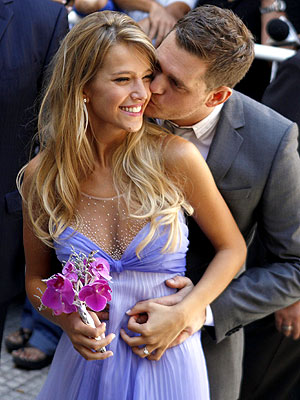 Michael Buble Married in Argentina