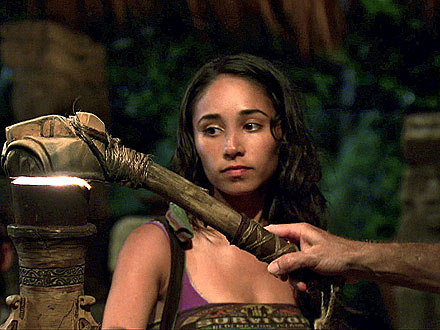 Survivor Redemption Island's Stephanie Valenica Eliminated