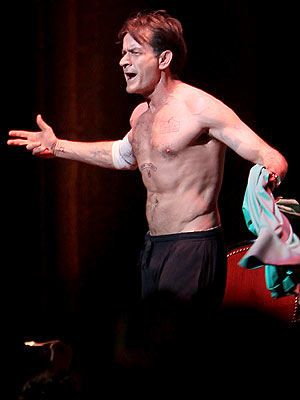 Charlie Sheen Improves Show for Chicago