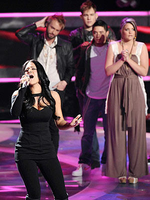 American Idol: Pia Toscano Eliminated Too Soon?