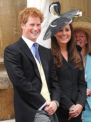 Kate Middleton, Prince Harry Rehearse the Wedding