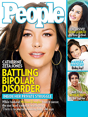 Catherine Zeta-Jones on Bipolar II Disorder