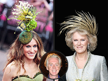 Royal Wedding - Philip Treacy Hats