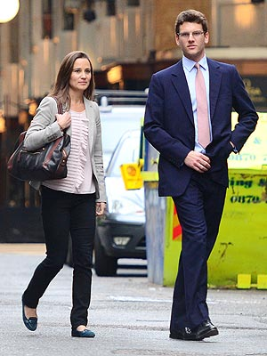 Pippa Middleton, Alex Loudon Split