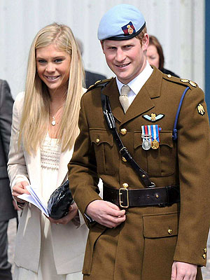 Prince Harry Takes Chelsy Davy to Prince William & Kate Middleton Royal Wedding