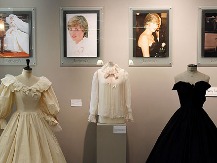 Princess Diana Dresses on Display