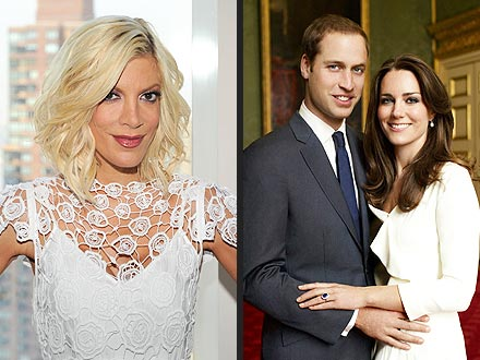 Royal Wedding: Tori Spelling Party for Kate Middleton & Prince William Nuptials