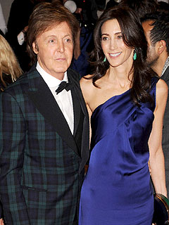 Paul McCartney, Nancy Shevell Engaged