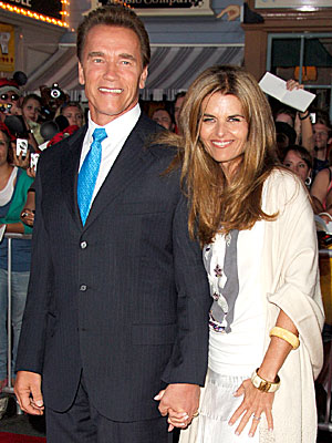 Maria Shriver, Arnold Schwarzenegger Spend Christmas Together with Their Kids
