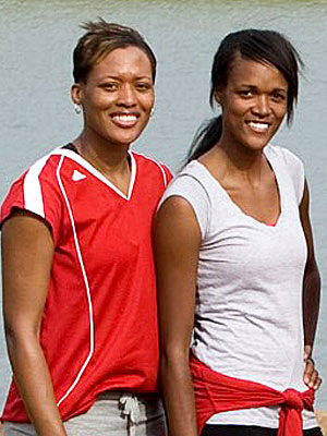 LaKisha and Jennifer Hoffman - Amazing Race Winners