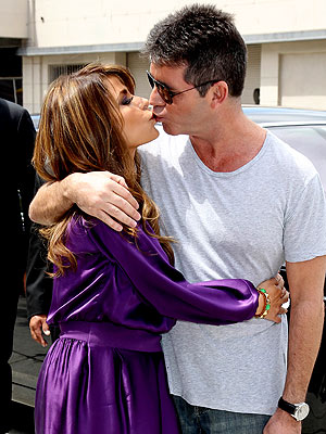 Paula Abdul & Simon Cowell on 'X Factor'