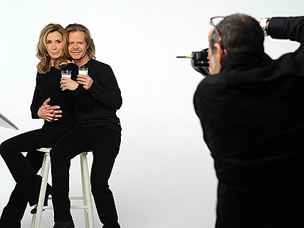 PHOTO: William H. Macy and Felicity Huffman Pose Together for Milk Ad