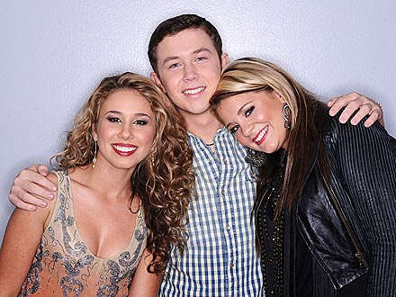 American Idol: Scotty McCreery, Lauren Alaina, Haley Reinhart