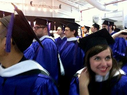 James Franco Graduation