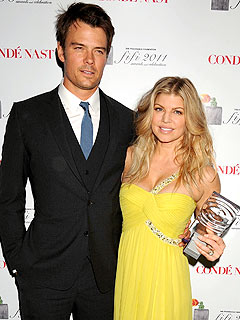 Fergie Surprised by Josh Duhamel at FiFi Awards