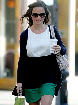 Pippa Middleton's Spring Day Out