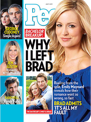 Emily Maynard, Brad Womack Split