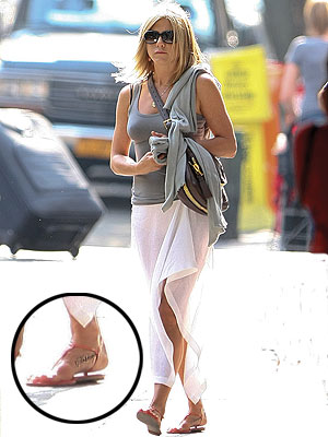 Jennifer Aniston Tattoo Pays Homage to Dog Norman