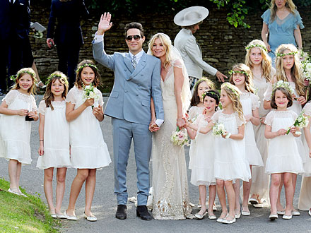Kate Moss, Jamie Hince Married