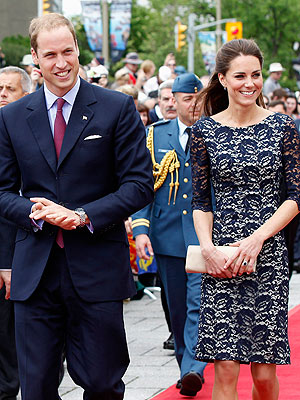 Prince William, Kate Speak to Crowds in Canada