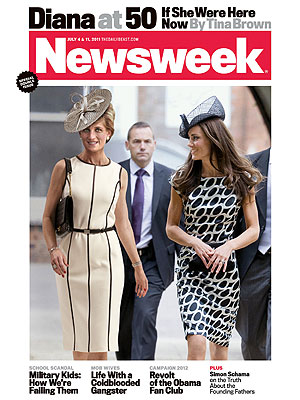 Princess Diana on Newsweek