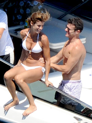 George Clooney, Elisabetta Canalis Split; She Parties on Yacht