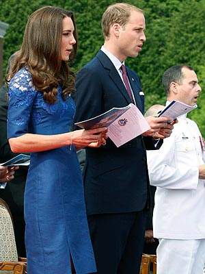 Prince William & Kate Middleton Prayer Service in Quebec City, Canada