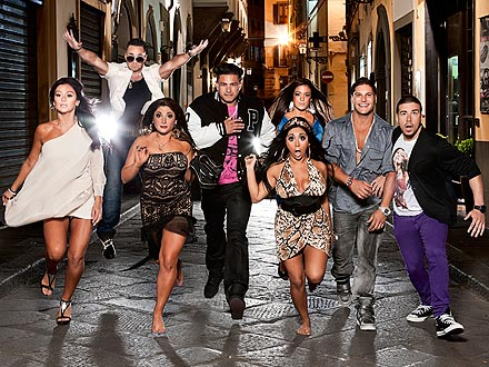 Jersey Shore Season 4 in Italy Pictures