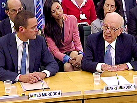 Murdoch Scandal: Rupert Murdoch, James Murdoch of News Corp Face Parliament