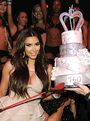 Kim Kardashian Bachelorette Party, Kris Humphries Bachelor Party