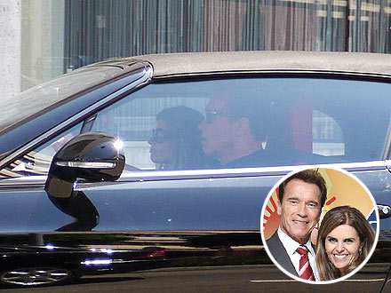 Maria Shriver and Arnold Schwarzenegger Reunite