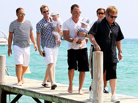 Elton John, Neil Patrick Harris Share Family Outing