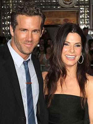 Sandra Bullock, Ryan Reynolds Pictures of Hiking in Wyoming