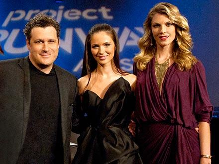 Angela Lindvall, Isaac Mizrahi & Georgina Chapman: Project Runway All Stars
