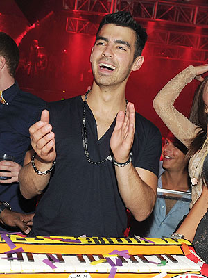 Joe Jonas Celebrates His Birthday Early in Las Vegas