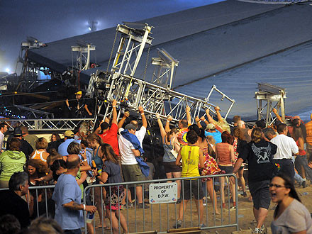 Sugarland Stage Collapse in Indianapolis Kills Five; Sara Bareilles Tweets