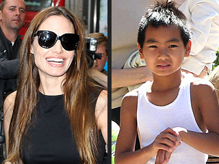 Brad Pitt and Angelina Jolie's Son Maddox Tries Haggis